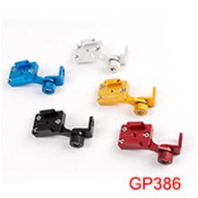 Buy Gopro accessories Aluminium alloy motor Bike rearview mirror Mount Go pro 5 4 3+ 3 2 SJ4000 Xiao mi yi camera GP386 for $21.00 in AliExpress store