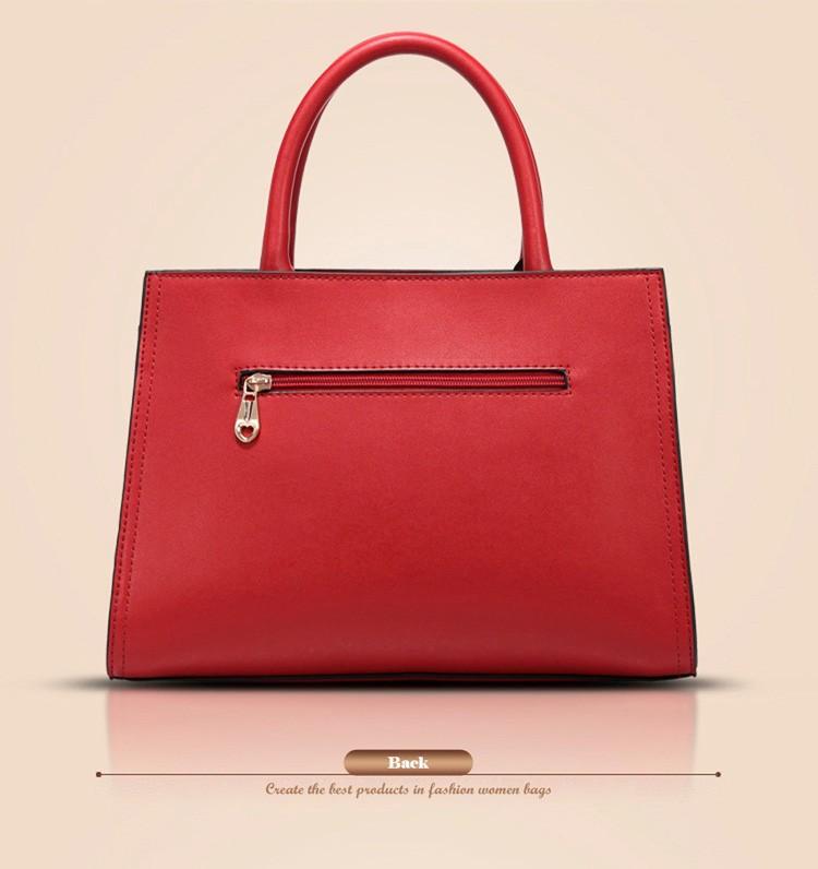 Genuine Leather Bags Handbags Women Famous Brands Bolsas Femininas