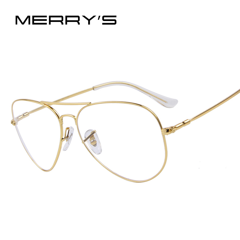 Titanium Eyeglass Frames China : Aliexpress.com : Buy MERRYS Fashion Men Titanium ...