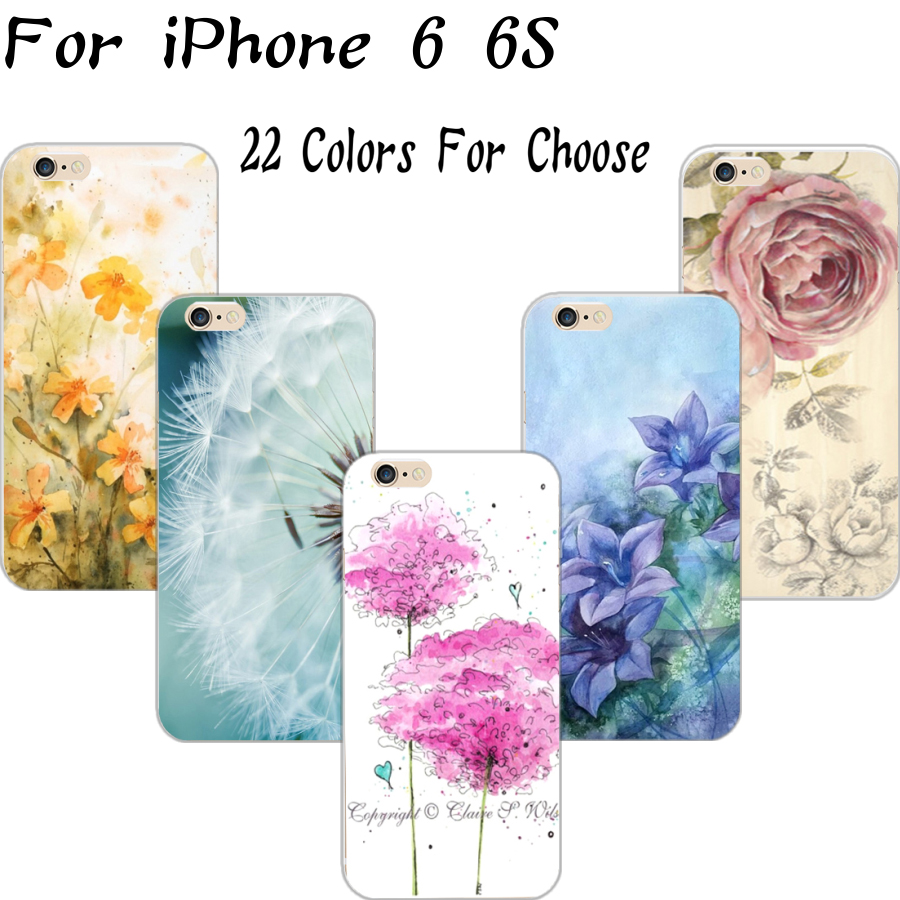 6/6S Fashion Painted Hard Cover Case Apple iPhone6/6S 4.7'' Cases iPhone 6 6S Cell Phone Shell 2016 Hot Popular Newest - Mobile Accessories/Case And Mp3 Store store