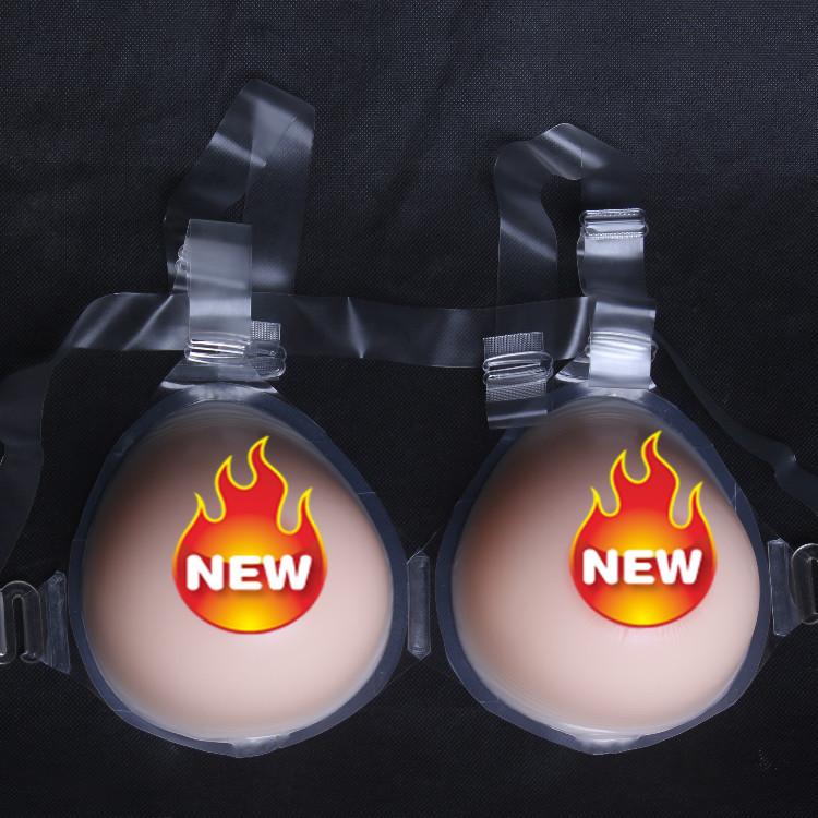 1800g/pair H cup water Drop shape Silicone Mastectomy Breast Form breast enhancer health care peito formas de mama de silicone
