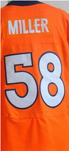 New Mens High Quality 100% Stitched Color Derek Blue Orange White Wolfe Jerseys Fast Shipping(China (Mainland))
