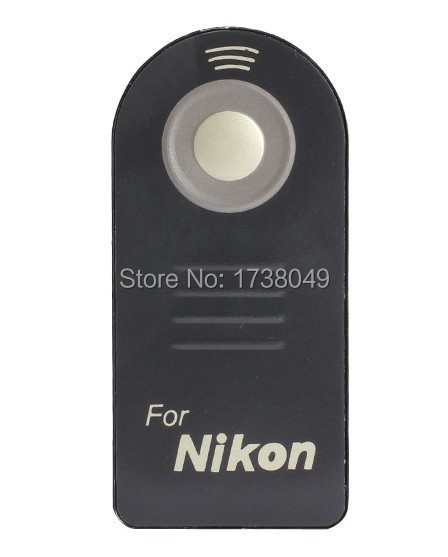 ML-L3 ML L3 IR Wireless Remote Control For Nikon D7000 D5100 D5200 D5300 D5000 D3000 D90 D80 D70 D50 D60 D40 8400 8800 Camera(China (Mainland))