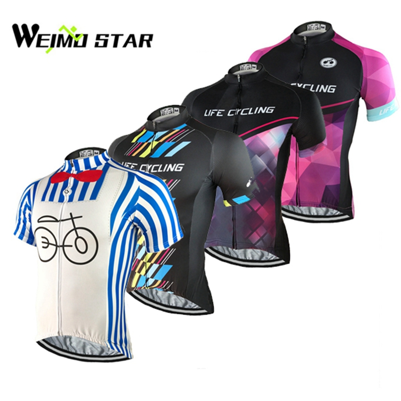 Bike jersey 2017 Brand WEIMOSTAR Team Cycling clothing bike bicycle Cycling jersey short sleeve tops / Cycling wear quick dry(China (Mainland))
