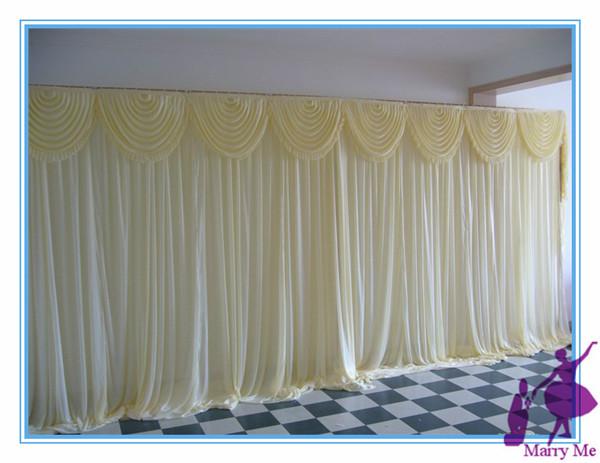 x3m silk wedding backdrop wedding backdrop drapes curtain in festive