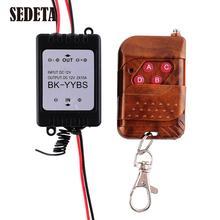 Hot 1X 12V Wireless Remote Control Module W/Strobe Flash For Car Auto Vehicle Trucks Bulbs Light LED Strips(China (Mainland))