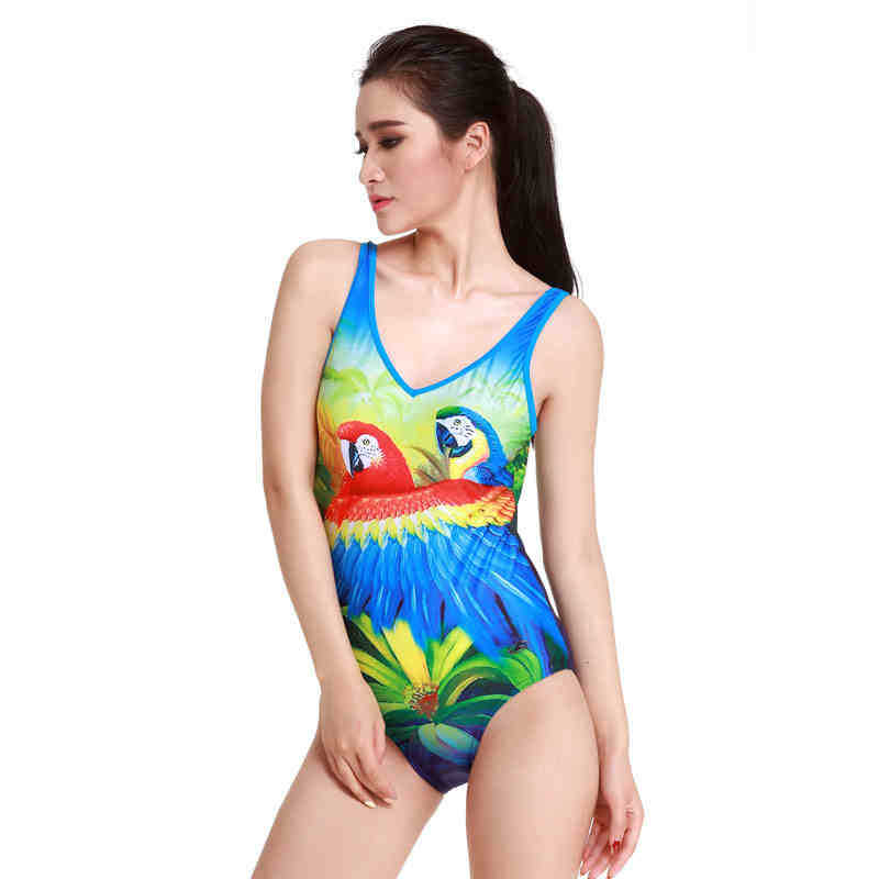 Yingfa 2015 new one piece padded training and competitive waterproof chlorine resistant women's swimwear plus size swimsuits(China (Mainland))