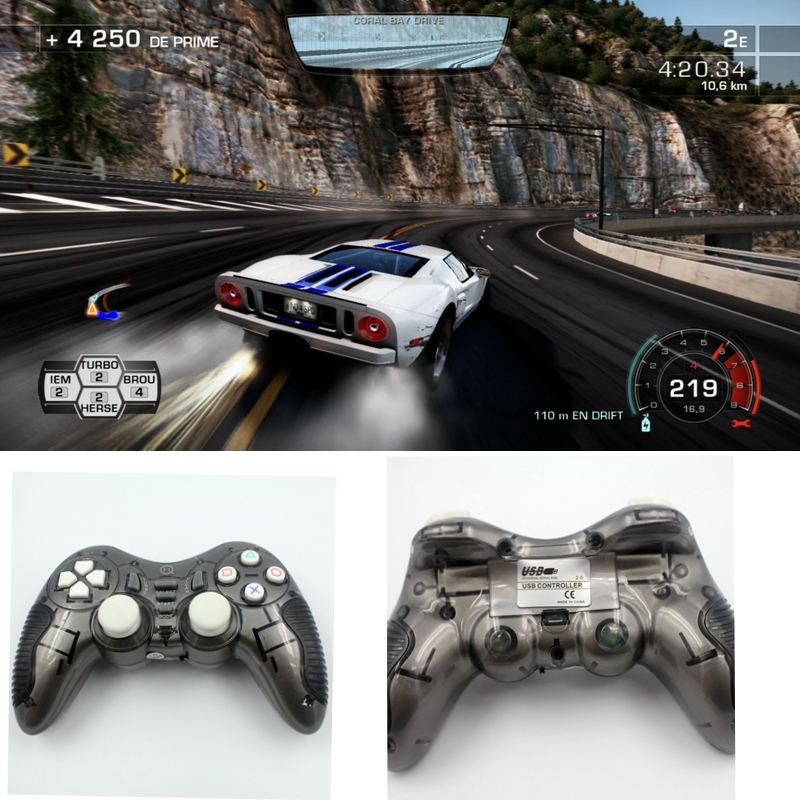 Gamecube Bluetooth Gamepad New 2.4g Hz Wireless 5in1 Double Shock Gaming Controller Gamepad Joystick Usb For Pc Ps2 Ps3 Android(China (Mainland))