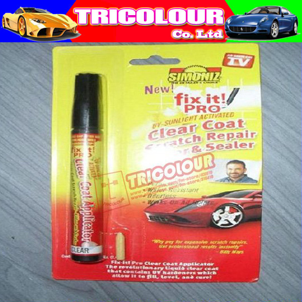 WHOLE SALE Scratch repair filler scratch remover as seen on TV car maintance 20PCS/LOT #H06158(China (Mainland))