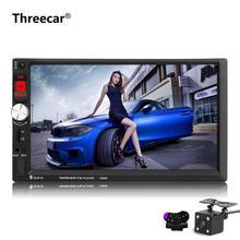 7 Inch Touch Screen 7080B Car Radio 2 Din In Dash Auto audio Player Stereo bluetooth USB SD MP3 Rear View Camera autoradio(China)