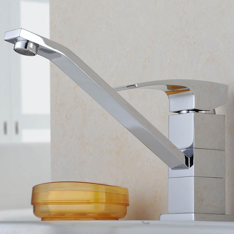rotary single joint type hot and cold water tap water saving and environmental protection wrench type bathtub faucet(China (Mainland))