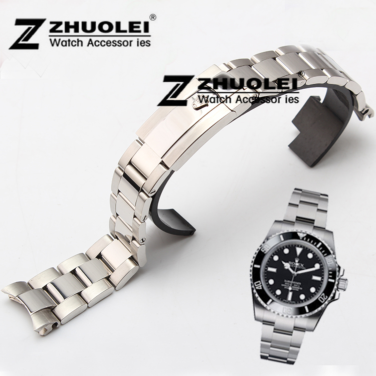 20mm watch band stainless steel watch bracelets silver <br><br>Aliexpress