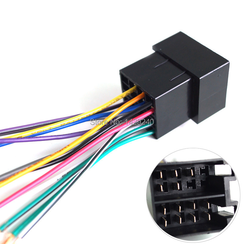 Universal Wiring Harness Connector : Aliexpress buy universal female iso radio wire