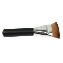 2015 New Single Professional Flat Contour Foundation Blush Brush Face Makeup Big Powder Brushes Synthetic Hair