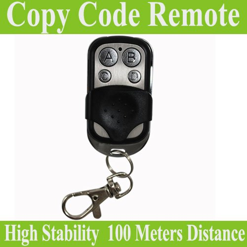 Hot selling!!433.92MHz 4 channel universal remote control duplicator Copy Code Remote learning garage door opener(China (Mainland))