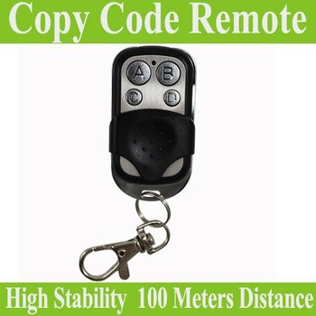 Hot selling!!433.92MHz 4 channel universal remote control duplicator Copy Code Remote learning garage door opener