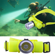 Waterproof Diving Headlight CREE XM-Q5 LED Dive flashlight