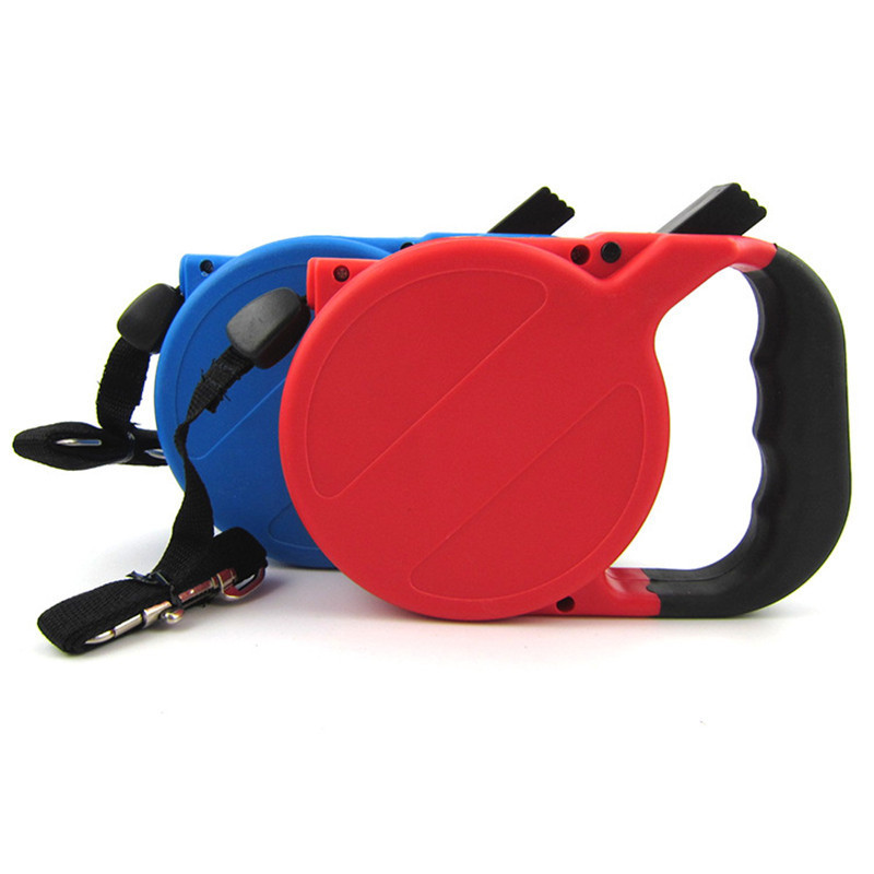 High Quality Portable Automatic Retractable Dog Leash Harness Traction Retractable Pet Dog Leash 8m Long Free Shipping On Sale(China (Mainland))