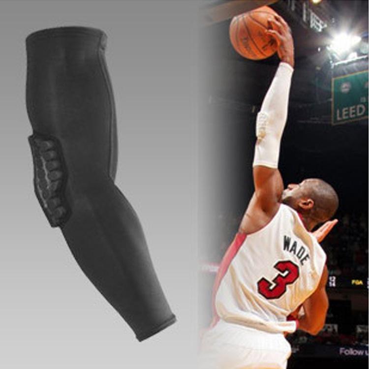 2014 Sale Rushed Freeshipping Adult Black Volleyball Rodillera Caneleira Basketball Brace Cellular Crash Armband Equipment Elbow(China (Mainland))