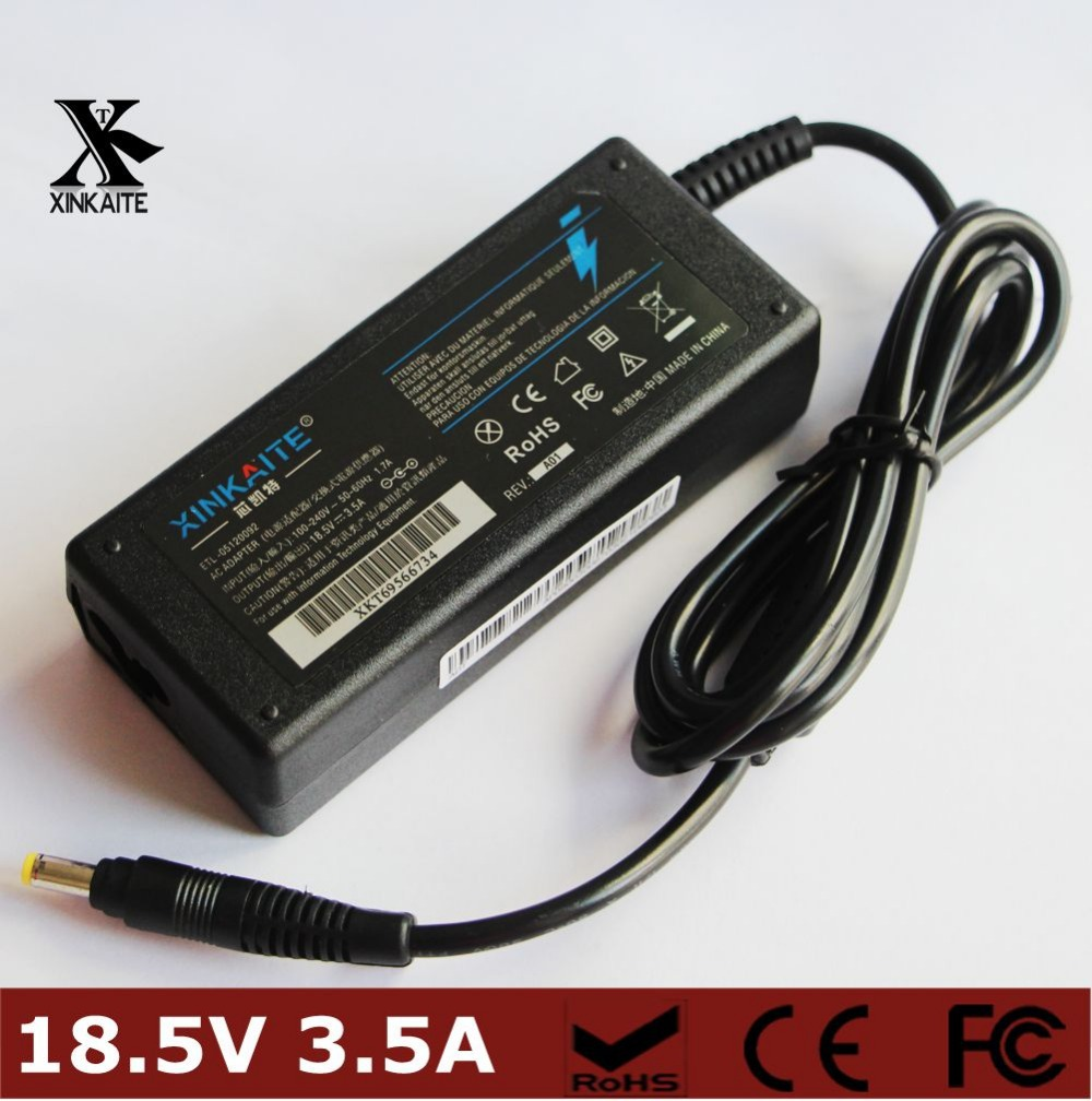18.5V 3.5A 65W Laptop/Notebook Charger Power supply Adapter For HP compaq 500 510 520 530 540 550 620 625 CQ515 with power cable(China (Mainland))