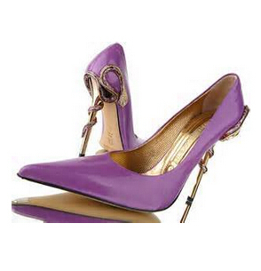 women patent leather pointed toe high heels Unique Snake Charmer ...
