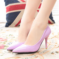 2016 New Arrival Heels 9CM Pointed Toe Women Pumps Fashion Ladies sexy Pumps For Party Wedding