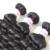 Top Grade Eurasian Virgin hair free shipping, loose wave hair extension ,3pics/lpot can be colored , color 1b