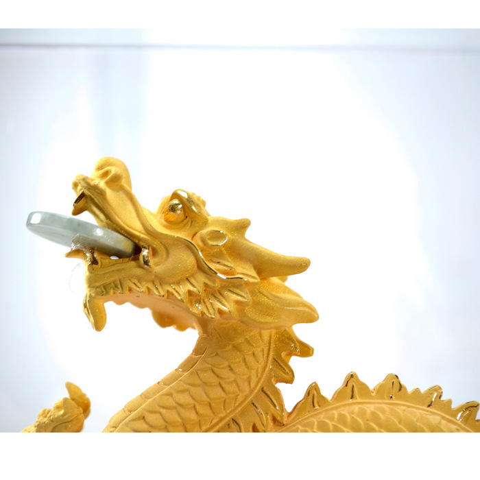 Prime home dragon and phoenix dragon ornaments Lucky Lucky upscale home accessories business gifts handicraft decoration(China (Mainland))