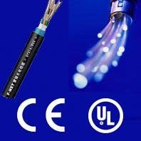 Waterproof 360 fiber optic cable with CE and ISO