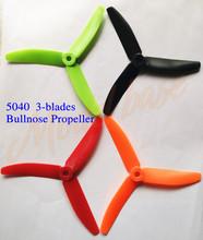 24pcs 4040 4045 5040 5045 3 blades Bullnose Propeller CW /CCW for 250 FPV Racing Quadcopter ZMR250 Robocat (5045 upgrade)(China (Mainland))
