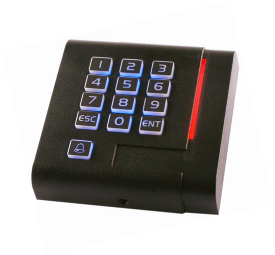Free shipping,13.56M proximity IC  Keypad  reader , wiegand 26/34 output, suit  for Access Control sn:1003 ,min:5pcs<br><br>Aliexpress