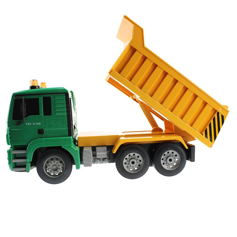 RC Truck Remote Control Dumper Truck Lorry Simulation Project Tilting Cart 6 wheel Engineering Carrier Truck Electronic toys(China (Mainland))