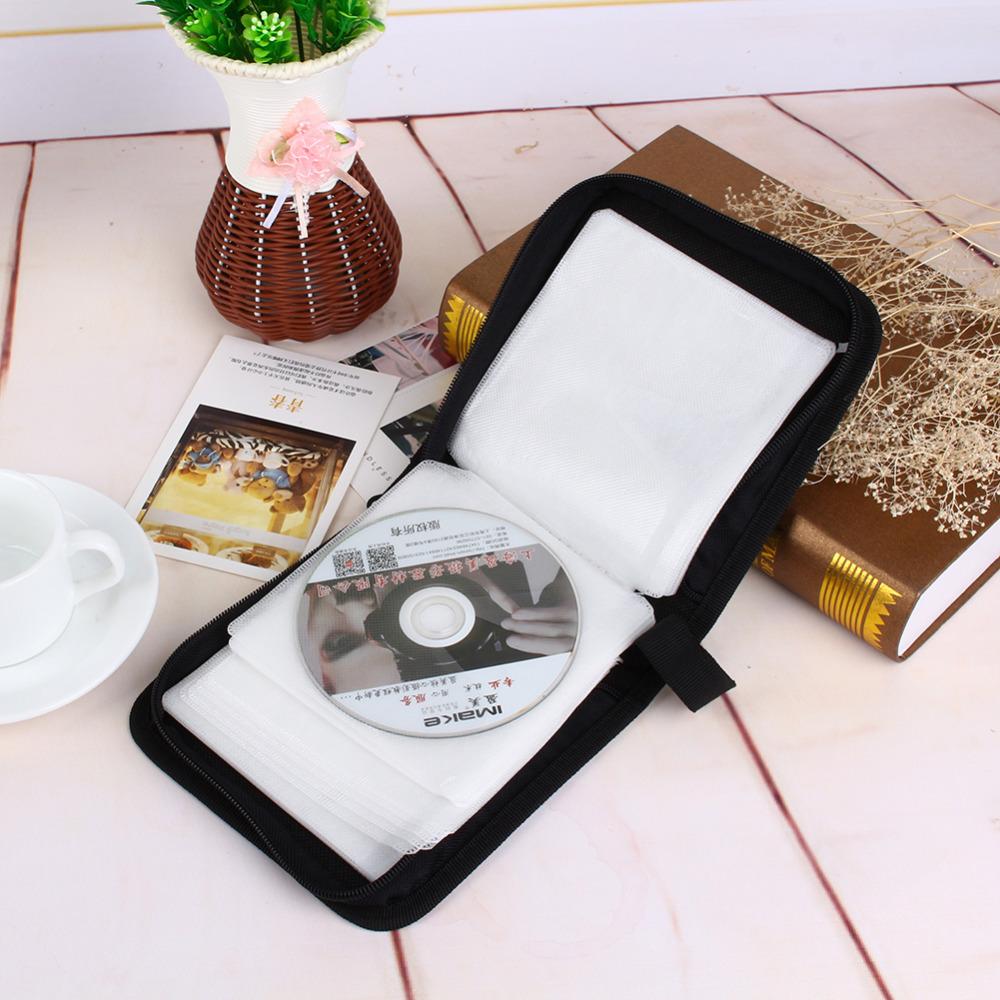 CD/DVD Holder Storage Bag of Oxford Cloth 40 Disc CD DVD Holder Storage Cover Case Organizer Wallet Bag Album(China (Mainland))