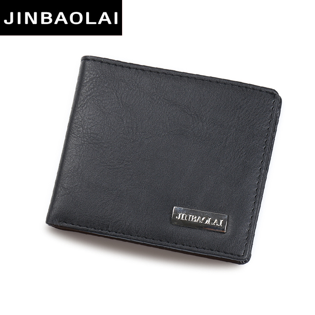 Hot Sale Fashion Men Wallets Quality Soft Design Wallet Casual Short Style BLACK Colors Credit Card Holder Purse Free Shipping