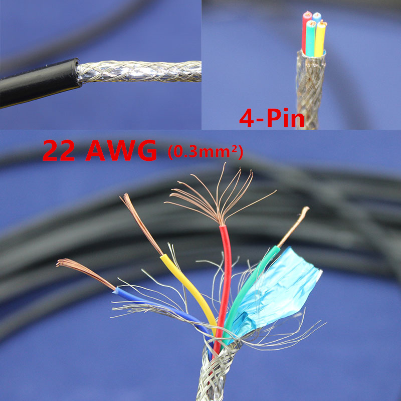 Electrical Signal Cable : Meters copper electrical wire pin awg anti