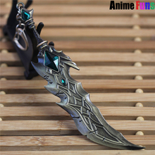Buy 17cm Game League Legends Keychain LOL Tryndamere Weapon Keyring Model Charm Cosplay Jewelry Birthday Gift women man for $3.20 in AliExpress store