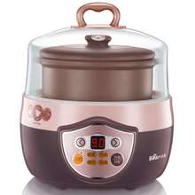 DDZ-1082 electric cooker electric slow cooker soup stewing porridge 0.8L(China (Mainland))