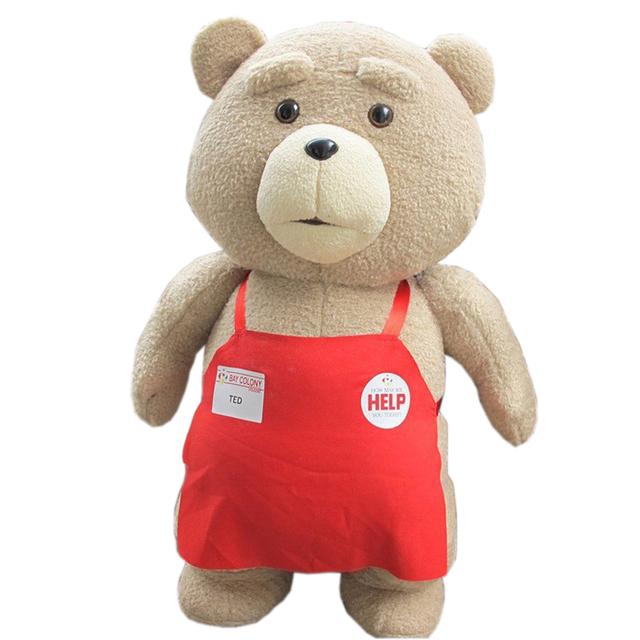 Большой Размер 46 см Оригинальные Teddy Bear Чучела Плюшевые Животные Тед 2 Мягкие Плюшевые Куклы Ребенок Подарок На День Рождения Детские Игрушки