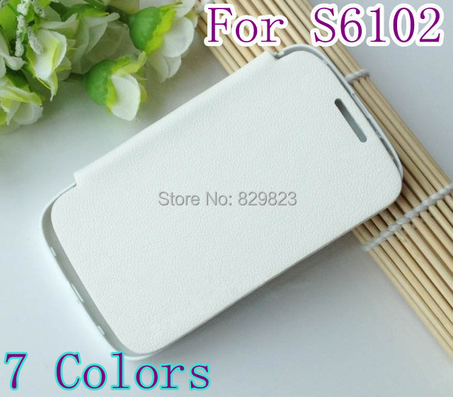 Flip Cover Case Samsung Galaxy Y Duos S6102 S6102e S6108 6102 6102e 6108 Back PU Leather - SHENZHEN LIGA TRADE CO., LTD store
