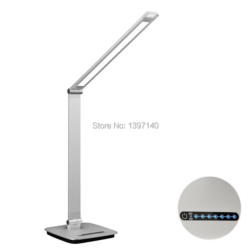 new 10w ambient light sensor dimmable led desk lamp 100 240v input. Black Bedroom Furniture Sets. Home Design Ideas