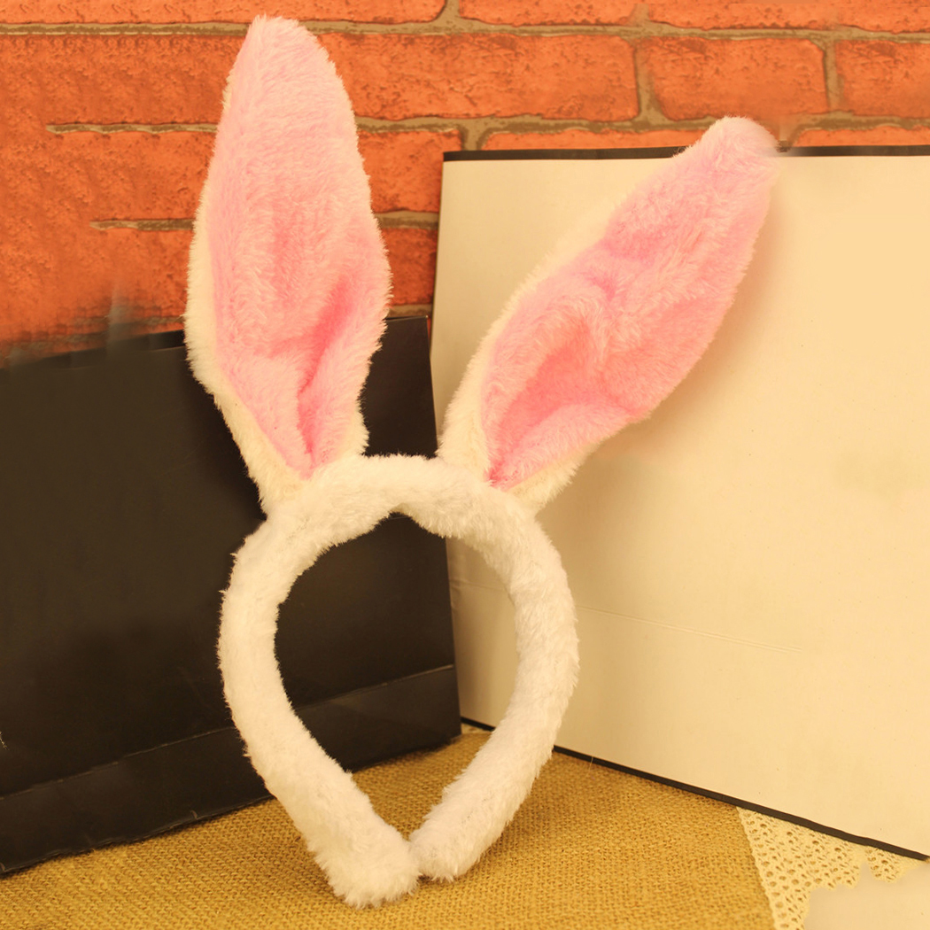 Pretty Cute Women Hair Band Bunny Rabbit Ear Cool Headband Plush Party Supply 119(China (Mainland))