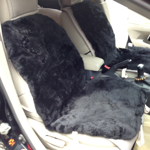 Fur car seat covers for Motor sheep seat covers