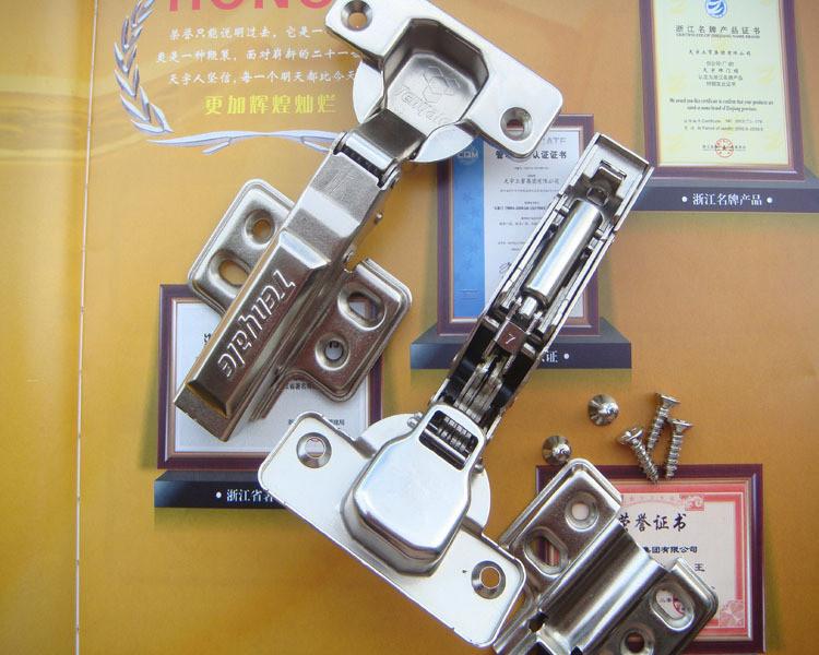 Red crown] Sky 266 hydraulic quick damping hinge / buffer hinge / hydraulic hinge / Straight(China (Mainland))