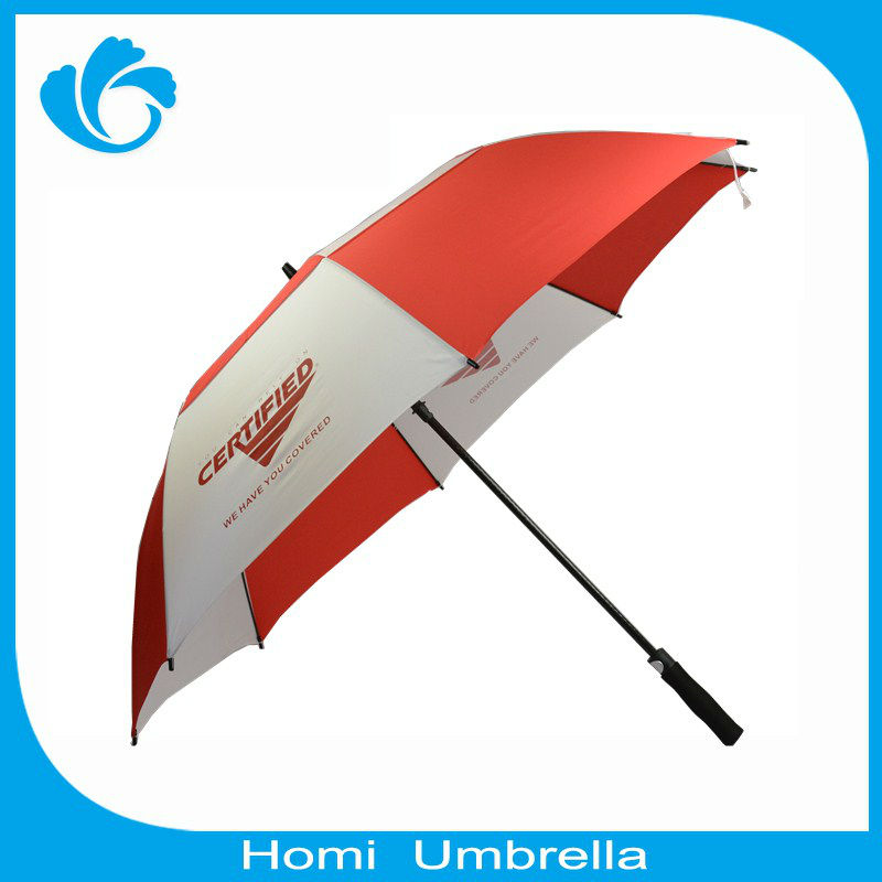 Wholesale Advertising Auto Open Cheap Good Quality Golf Umbrella(China (Mainland))