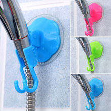Home Bathroom Vacuum Holder Wall Suction Cup Wall Mount Adjustable Shower Head Holder(China (Mainland))