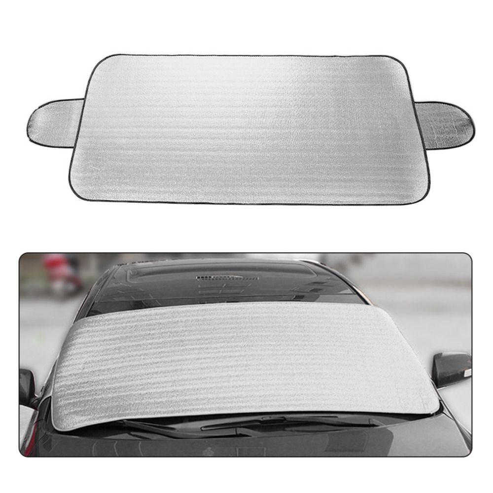 2017 Hot 150*70CM Large Size Auto Car Windshield Visor Cover Block Front Window Sunshade UV Protect Car Styling Sun Block Shade