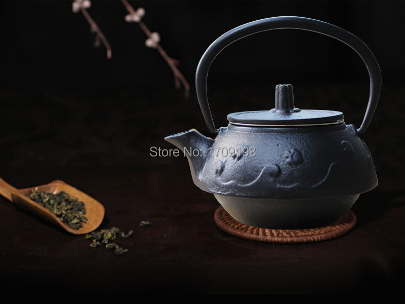 Drinkware teapot with tea infuser cast iron teapot kettle for cooking japanese popular for - Japanese teapot with infuser ...
