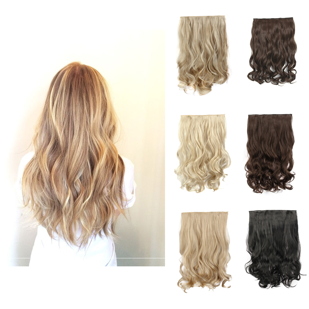 Blonde Curly Hair Extensions Clip In Remy Indian Hair