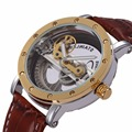 SHENHUA New Design Hollow Dial Automatic Mechanical Men Watch Relogio Masculino Montre Mens watches top brand