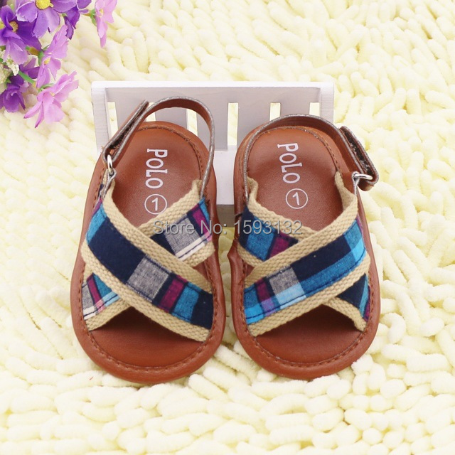Summer baby sandals polo children shoes boy first indiana